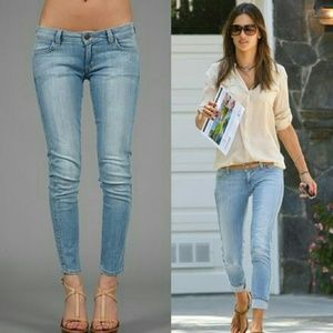Siwy Jeans Hannah Low Rise Cropped Skinny